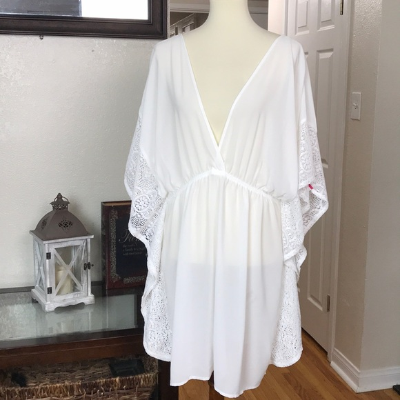 3f80ad227b774 Xhilaration Lace Swim Cover Up XL. NWT